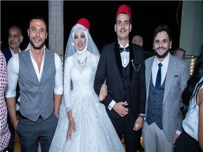 صورة من حفل زفاف ابنة سليمان عيد