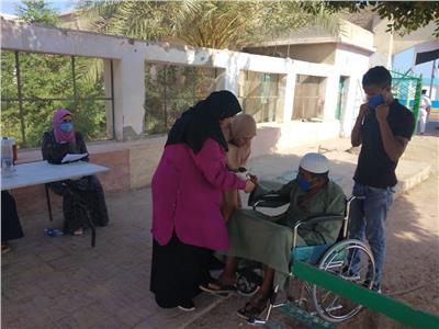ذوي الاحتياجات الخاصة يدلون باصواتهم