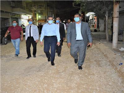 محافظ الغربية يقود حملة لإعادة الانضباط بشوارع طنطا