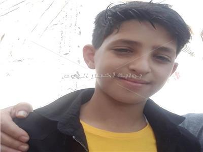 الطفل الفلسطيني يوسف الزق
