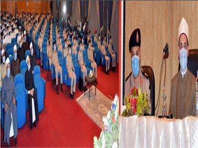 القوات المسلحة تحتفل بذكرى المولد النبوى الشريف لعام 1442 هـ