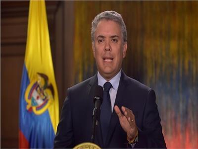 الرئيس الكولومبي إيفان دوكي