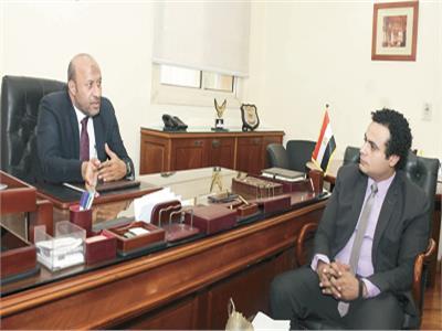 أحمد الحيوي خلال حوار مع محرر بوابة أخبار اليوم
