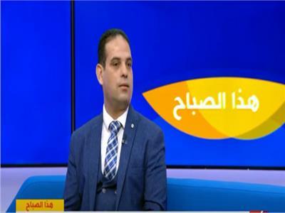 محمد يوسف رئيس فريق التدخل السريع بوزارة التضامن الاجتماعي