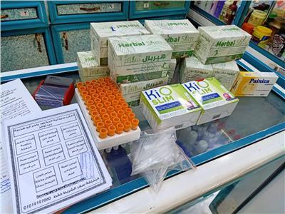 ضبط ٦٣ صيدلية تبيع أدوية مجهولة المصدربالغربية
