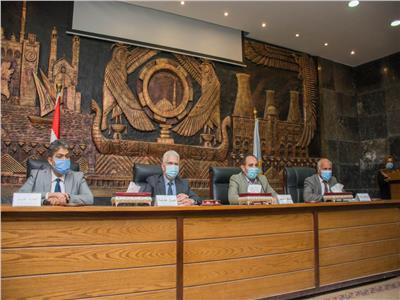 جامعة طنطا تشارك في خطة مواجهة الموجة الثانية لكورونا