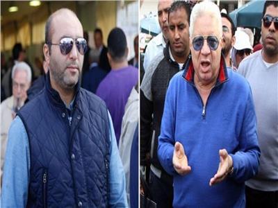 مرتضى منصور وهاني العتال