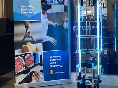 تطوير روبوت ذاتي لقتل فيروس كورونا