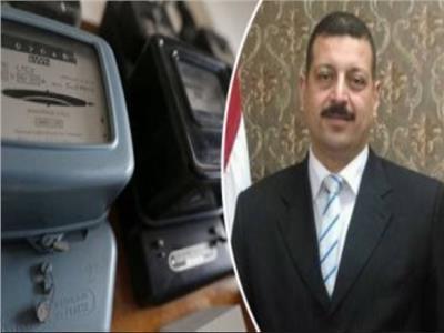 الدكتور أيمن حمزة المتحدث باسم وزارة الكهرباء