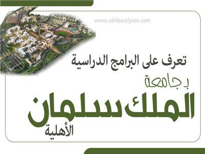 إنفوجراف|  تعرف على البرامج الدراسية بـ«جامعة الملك سلمان» الأهلية