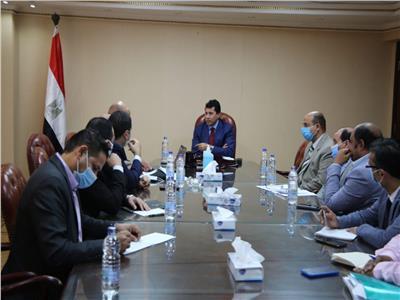 وزير الرياضة يجتمع باللجنة المنظمة لمونديال اليد