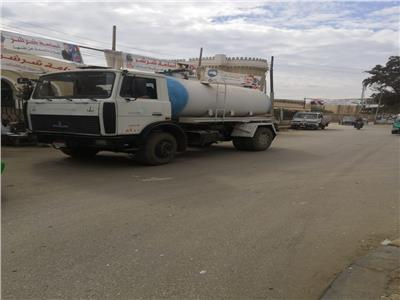 تمركز سيارات شفط المياه