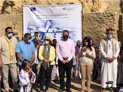 افتتاح قلعة شالي بواحة سيوة