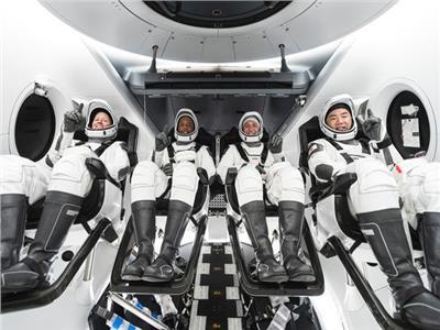 ناسا ترسل 4 رواد فضاء إلى محطة الفضاء الدولية