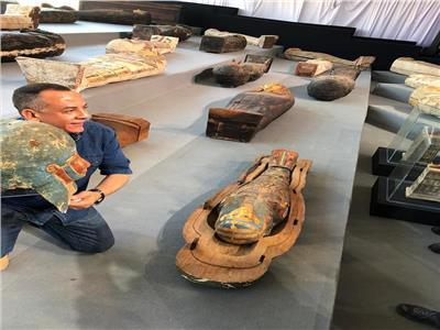 الصور الأولى لكشف سقارة الأثري الجديد
