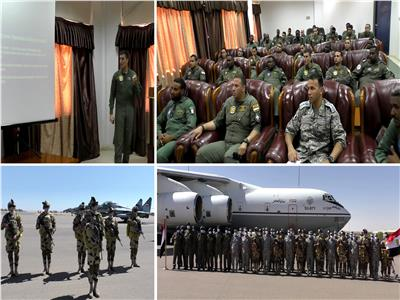 التدريب الجوي «نسور النيل 1»
