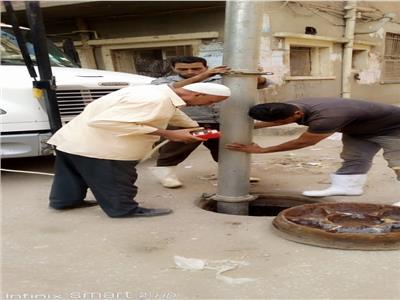 مياه المنوفية استكمال تطهير شبكات الصرف الصحى لمواجهة فصل الشتاء