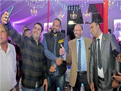 الدكتور حسام المندوه الحسيني خلال الاحتفالية