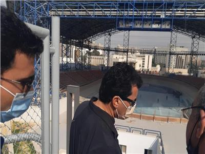 وزير الرياضة د. أشرف صبحي