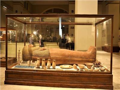 توابيت سقارة تزين متحف المصري بالتحرير