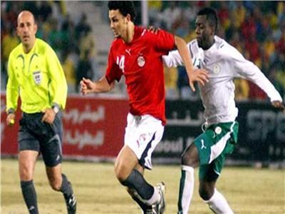حسام غالي أمام السعودية