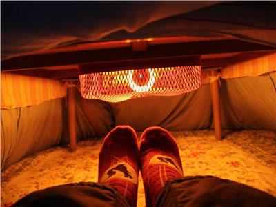 «الكوتاتسو» الحل الأمثل للتدفئة فى الشتاء