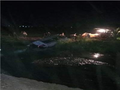 حادث مروري في بني سويف