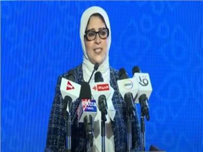 الدكتورة هالة زايد، وزير الصحة