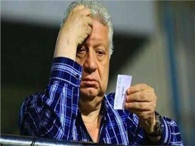 المستشار مرتضي منصور رئيس نادي الزمالك