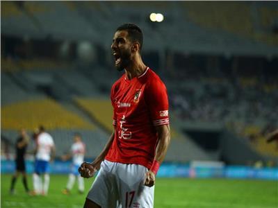 عمرو السولية نجم النادي الأهلي - أرشيفية