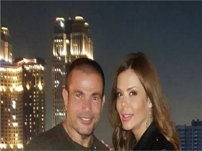 عمرو دياب وإيمي سالم