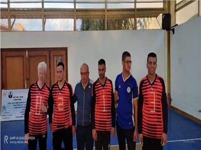 فريق جامعة قناة السويس