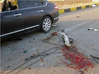 موقع حادث الاغتيال- صورة من رويترز