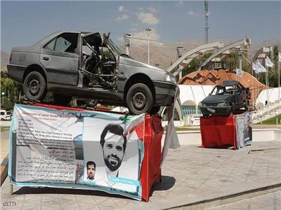 السيارة التي قتل فيها العالم أحمدي روشان