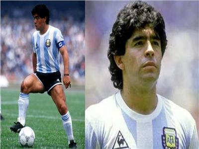 اللاعب الأرجنتينى ماردونا