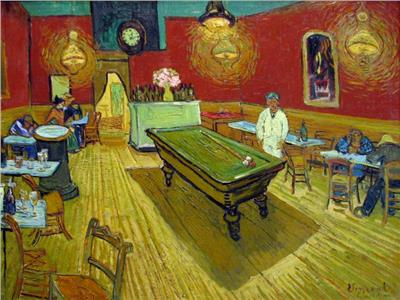إحدى إبداعات الفنان الهولندي الكبير فنست فان جوخ