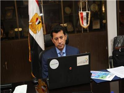 وزير الرياضة الدكتور أشرف صبحي