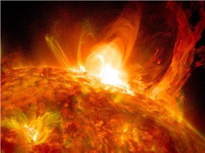 أكبر توهج شمسي