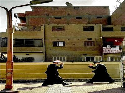 مصر المحبة.. صورة في الصعيد تشعل السوشيال ميديا