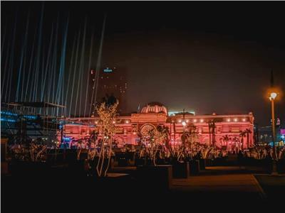 إضاءة ميدان التحرير
