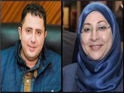 جيهان عبد المنعم وحسام فوزي نائبي محافظ القاهرة