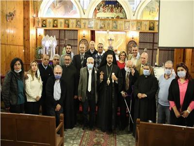 نيافة الأنبا باخوم النائب البطريركي لشؤون الإيبارشية البطريركية