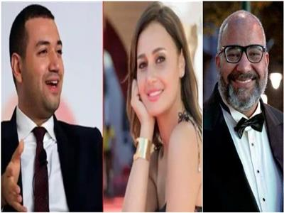 بيومي فؤاد وحلا شيحة ومعز مسعود
