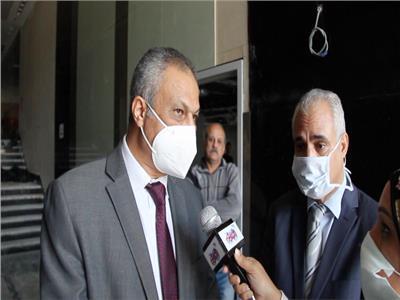 عميد معهد الأورام حاتم أبوالقاسم خلال حواره مع بوابة أخبار اليوم