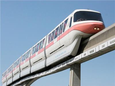 القطار المُعلق أو «المونوريل»