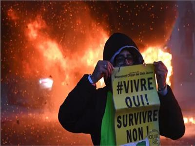 صورة من الاحتجاجات