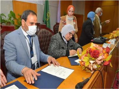 بروتوكول تعاون بين «تعليم الكبار» والشبكة العربية لمحو الأمية بالمنوفية