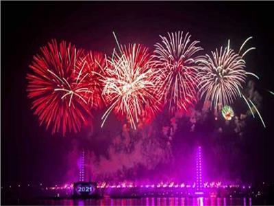 احتفالات المصريين بأعياج رأس السنة الميلادية