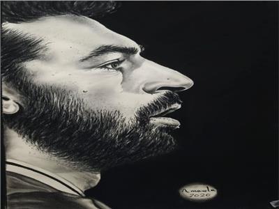"""لاعب منتخب مصر العالمي  """"محمد صلاح""""."""