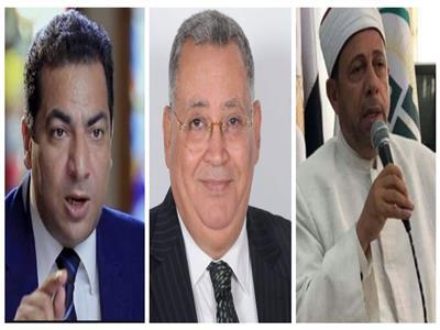 د. عبد العزيز النجار و د. عبدالله النجار ود. عبد الغني هندي